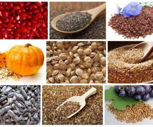 Десять самых полезных семян для человека
