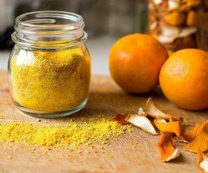 Чем полезна кожура мандарина?