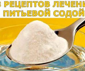 Рецепты лечения пищевой содой.