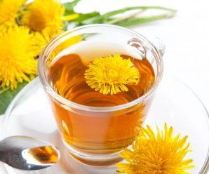 Чай из цветков одуванчика поможет похудеть