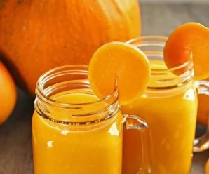 Тыквенно яблочный нектар с апельсинами!